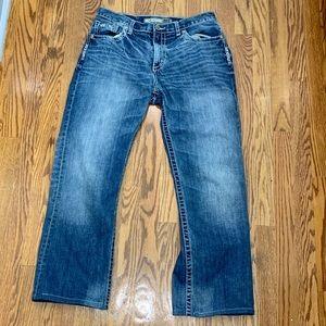 BKE Tyler Straight Leg Jeans.  33L